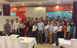 Khoá đào tạo quản trị nhân sự cho giám đốc và trưởng phòng của các doanh nghiệp tại Bắc Giang